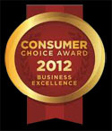 GTA Heating Consumer Choice Award Winner 2012
